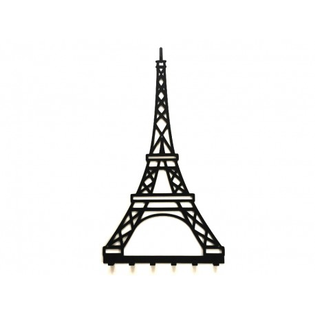 Wieszak na ubrania PARIS wykonany z metalu