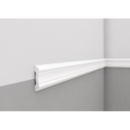 Elastyczna biała LISTWA ŚCIENNA MDD345 F MARDOM DECOR