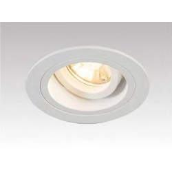 LAMPA WPUSZCZANA CHUCK DL ROUND WHITE 92699 Zuma Line