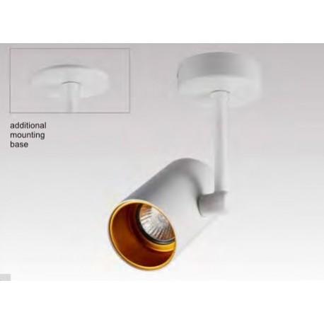 LAMPA SUFITOWA TORI SL 1 WHITE-GOLD 20014-WH Zuma Line