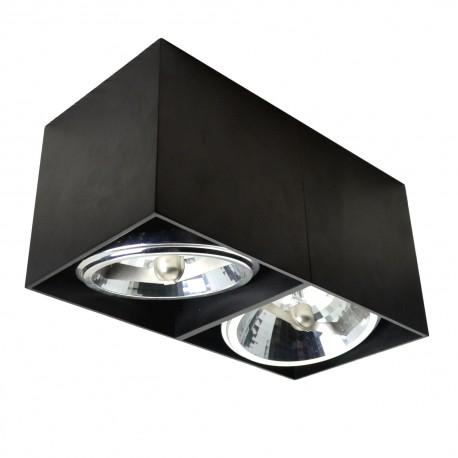 LAMPA SUFITOWA BOX SL2 90433 Zuma Line, LAMPY SUFITOWE, OŚWIETLENIE, AGATA, DEKORPLANET, E LAMPY, LAMPY SUFITOWE