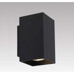 LAMPA ŚCIENNA SANDY WL SQUARE BLACK 92698 Zuma Line