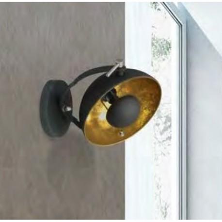 LAMPA ŚCIENNA ANTENNE TS-130801W-BKGO Zuma Line, nowoczesne oświetlenie, lampy ścienne, ścienne lampy, designerskie, metalowe