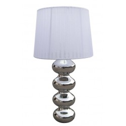 LAMPA STOŁOWA DECO, deco, TS-060216T-CHWH Zuma Line, lampy stołowe, nowoczesne, stylowe, oryginalne, białe, oryginalne oświetlen