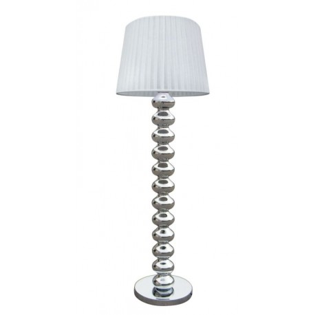 LAMPA STOJĄCA DECO TS-060216F-CHWH Zuma Line, lampy stojące, nowoczesne, designerskie, stylowe, do salonu, białe, oryginalne