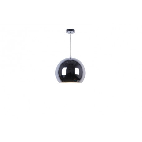 LAMPA WISZĄCA GLOB HP1820-30-CH Zuma Line, nowoczesne oświetlenie, lampy wiszące, szklany klosz, lampy do kuchni, metaliczna