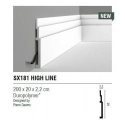 LISTWA PRZYPODŁOGOWA SX181 High Line ORAC DECOR