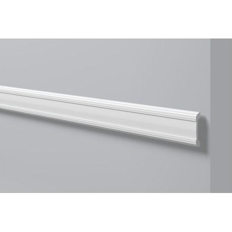 Listwa ścienna WL5 Gładka biała NMC