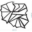 Dekoracja ścienna z metalu POLSKA 3 FLOXXY