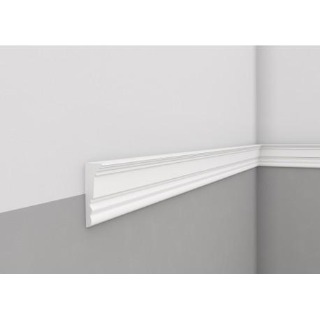 LISTWA ŚCIENNA MDD334 szeroka biała Mardom Decor