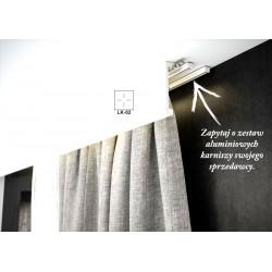 KARNISZ SZYNOWY ALUMINIOWY ZS2-200 CREATIVA-DWUTOROWY KARNISZ