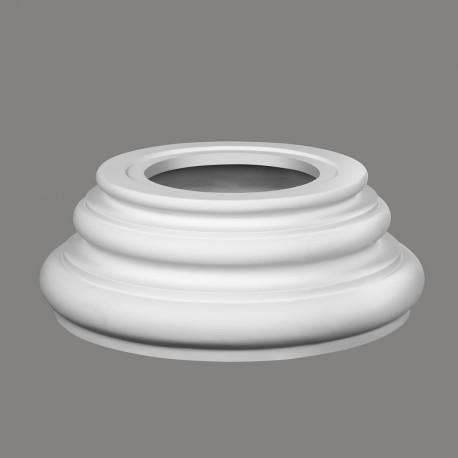 KOLUMNA N2024-4W Mardom Decor Baza kolumny gładka i okrągła