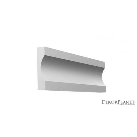 DZLS03 Symetryczna, listwa elewacyjna, styropianowa, nowoczesna, współczesna, sztukateria elewacyjna, dekorplanet, listwy elewac