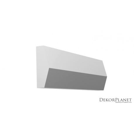 DZLS07, Listwa elewacyjna, symetryczna, sztukateria elewacyjna, listwy elewacyjne, styropianowe,sztukateria, dekorplanet