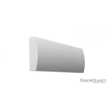DZLS08, Subtelna, listwa elewacyjna, sztukateria styropianowa, dekory elewacyjne, listwy styropianowe, zewnętrzne, ozdobne, fasa