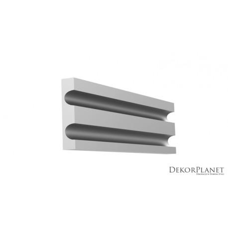 DZLS20 Listwy elewacyjne zewnętrzne styropianowe dekoracyjne