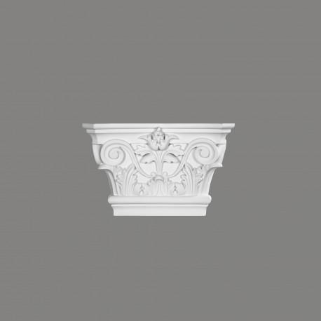 GŁOWICA PILASTRA D3502 Mardom DECOR Rzeźbiona w stylu strożytnym
