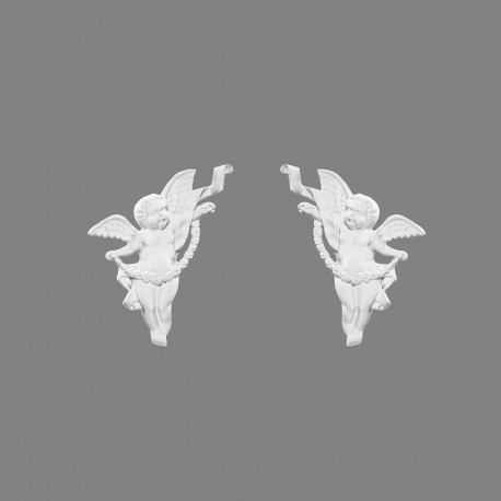 Element dekoracyjny Anioł lewy G2312L Mardom Decor z kolekcji Prestige
