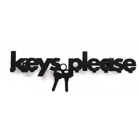 Wieszak na klucze KEYS PLEASE metalowy, do powieszenia