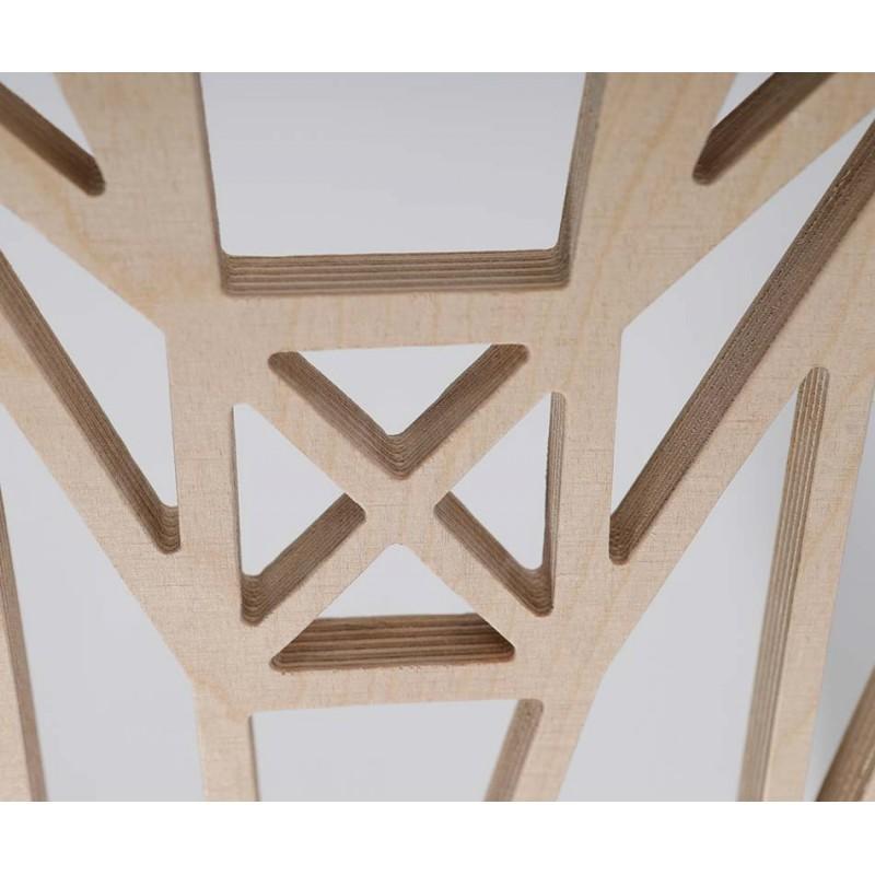 Jelen Drewniana Dekoracja Na Sciane Ze Sklejki