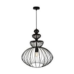 Lampa wisząca czarna VERTO P16180A-D44 Zuma Line, lampy wiszące, lampy wiszące czarne, lampa wisząca czarna, oświetlenie