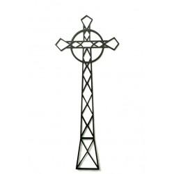 Krzyż Tarnica z metalu na ścianę ( wiszący ) Floxxy