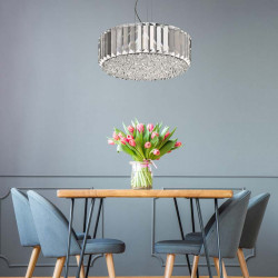 LAMPA WISZĄCA PRINCE ZUMALINE, LAMPY WISZĄCE ZUMA LINE, P0360-05B-F4AC, DEKORPLANET, OŚWIETLENIE ZUMALINE, LAMPY ZUMALINE,