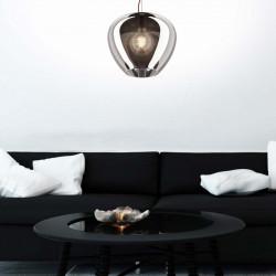 Lampa wisząca minas, minas zumaline, P1401-01A-F4FZ, lampy wiszące zumaline, lampy galamour, dekoracyjne lampy, zumaline, dekorp