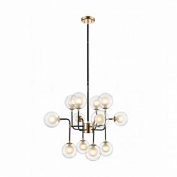 Lampa wisząca złota, RIANO, Zuma Line, P0454-12C-SDGF, riano zumaline, lampy wiszące riano, dekorplanet