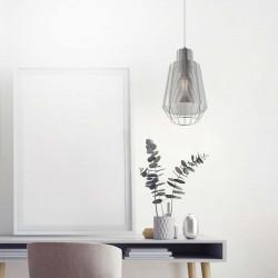 WIRE LAMPA WISZĄCA, Zuma Line, SREBRNA/SILVER, MD1712-1A-SILVER, srebrna lampa zumaline, wiszące lampy zumaline, wire zumaline,