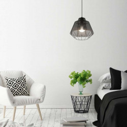 Zuma Line WIRE LAMPA WISZĄCA CZARNA/BLACK 003064-005287 MD1712-1B-BLACK, lampa zumaline, lampy czarne, czarne lampy zumaline,