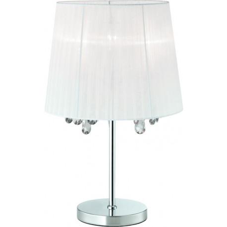 Zuma Line, CESARE, LAMPA STOŁOWA, BIAŁA, WHITE, RLT94350-3A, zumaline cesare, biała lampa stołowa, lampy stołowe zumaline,
