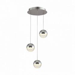 Zuma Line DORIS, doris, LAMPA WISZĄCA LED, CHROME, 003064-000982, MD1703-3B, oświetlenie, lampa, lampy, lampy led
