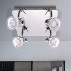 MOLI Zuma Line, Lampa sufitowa LED, SPOT, CHROME, CK170205-4, 003064-000919, moli, lampy, lampy sufitowe, oświetlenie, dekorplan