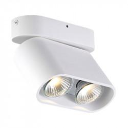 ZUMA LINE RONDIA 2, ACGU10-146 Zuma Line, LAMPA SUFITOWA BIAŁA, BIAŁA LAMPA ZUMA LINE, BIAŁA LAMPA SUFITOWA, PODWÓJNA LAMPA SUFI
