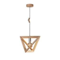 TRIGONON 1271174 DREWNIANA LAMPA WISZĄCA SPOTLIGHT