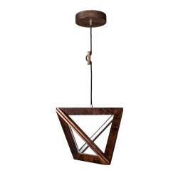TRIGONON 1171132 DREWNIANA LAMPA WISZĄCA SPOTLIGHT