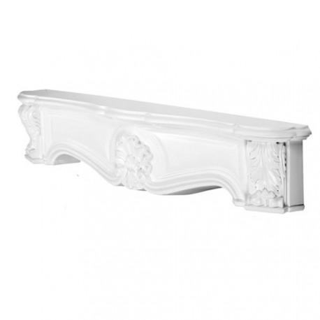 OBUDOWA KOMINKA, H100A, ORAC DECOR, luxxus, sztukateria, nadproże, obudowy, zdobione, klasyczne, ornamentalne