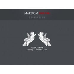 ANIOŁ LEWY G2334L Mardom DECOR element dekoracyjny **