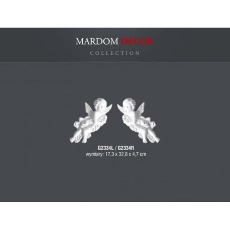 ANIOŁ LEWY G2334L Mardom DECOR element dekoracyjny