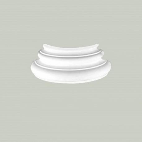 BAZA KOLUMNY KG224-4C CREATIVA GŁADKA, DEKORACJA, LEKKA, WYTRZYMAŁA, DO MALOWANIA