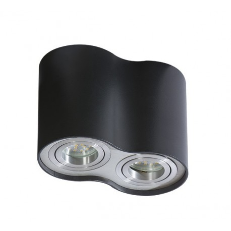 Lampa BROSS 2 GM4200Black/ Aluminium metal / Azzardo