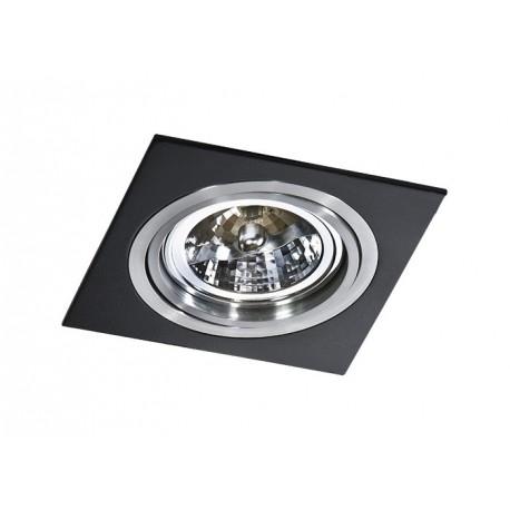 Lampa SIRO 1 GM2101Black/ Aluminium metal / Azzardo
