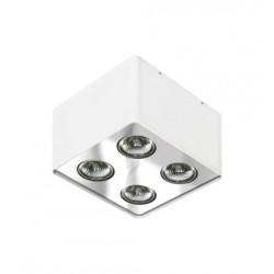 Lampa NINO 4 FH31434S White/ Aluminium metal Azzardo