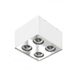 Lampa NINO 4 FH31434S White/Chrome metal / al Azzardo