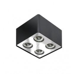 Lampa NINO 4 FH31434S Black/Chrome metal / al Azzardo