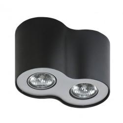 Lampa NEOS 2 FH31432B Black/ Aluminium metal Azzardo
