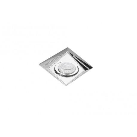 Lampa MIRA NC1695-CH Chrome / aluminium IP2 Azzardo