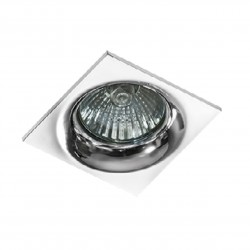 Lampa IVO SQUARE 1 GM21001S Chrome / aluminium IP20 Azzardo