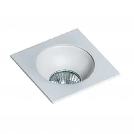 Lampa HUGO 1 Downlight bez wkładu GM2118S Downlight white / alumin Azzardo